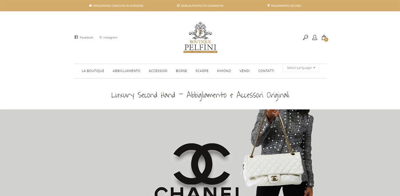 portfolio boutique pelfini